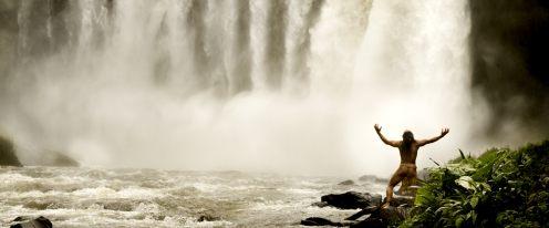 Apocalypto - srác a vízesésnél