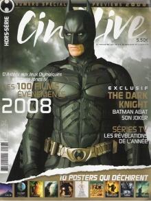 Batman Cinelive front cover