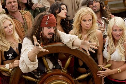 Bazi nagy film - Epic MOvie - A kapitány és random nők
