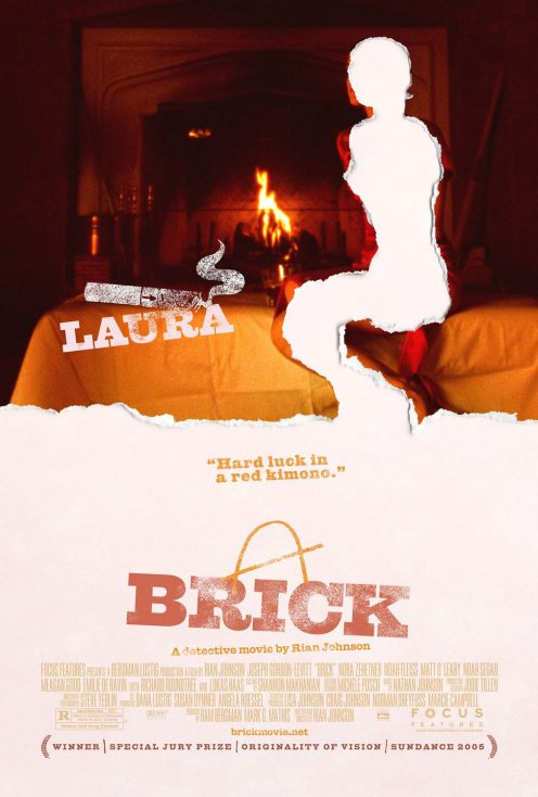 Brick Poster - Laura