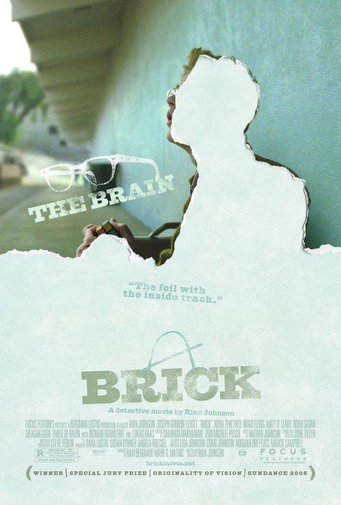 Brick Poster - The Brain