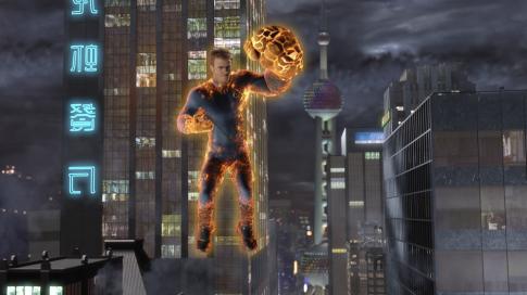 Chris Evans - A Fantasztikus Négyes és az Ezüst Utazó