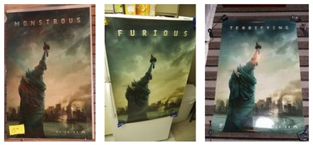 Cloverfield Comic Con posters