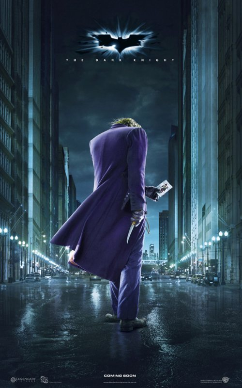 The Dark Knight - Joker character poster