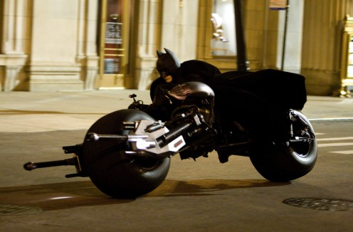 Dark Knight motorozik