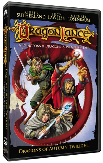 Dragonlance dvd cover