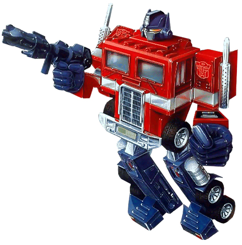 Optimus Prime ősrégi ábrázolása