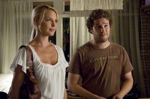 Felkoppintva - Knocked Up - a két főszereplő: Katherine Heigl, Seth Rogen