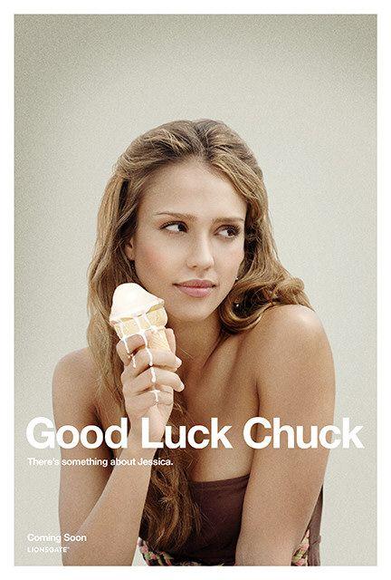 Good Luck Chuck poster - Jessica Alba