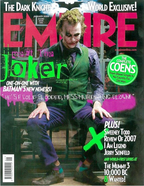 The Dark Knight - A Joker. Ennyi.