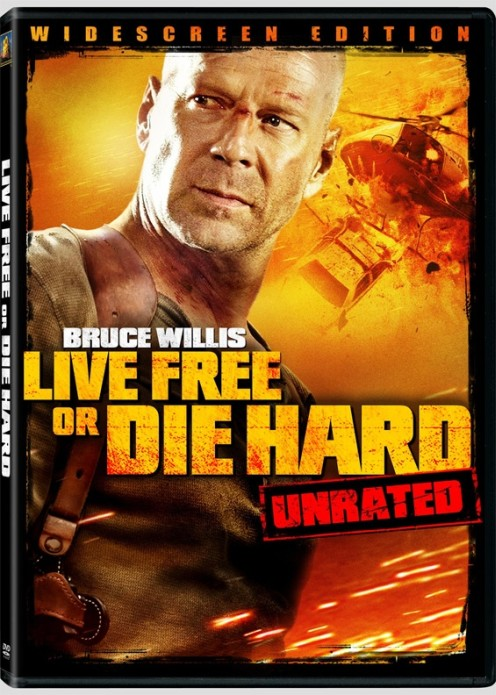 Live Free or Die Hard unrated dvd cover