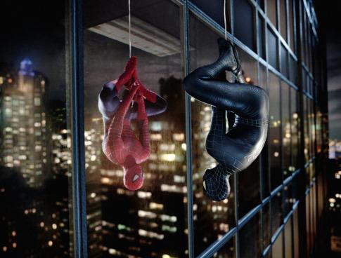 Pókember 3 amint magát nézi