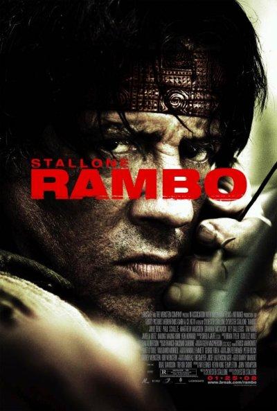 A sokadik Rambo poster