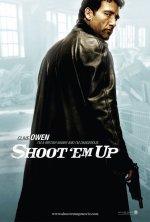Shoot 'em up poster: Clive Owen