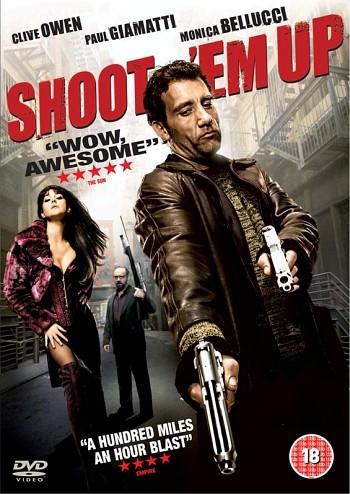 Shoot 'Em Up dvd borító