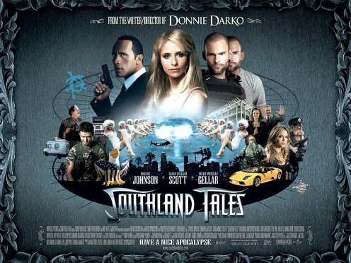 Southland Tales UK poster