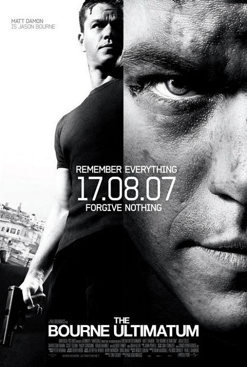 A Bourne Ultimátum poster