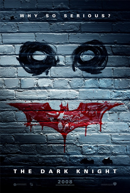 The Dark Knight teaser poster