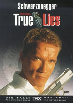 True Lies poster Swarcival a borítón