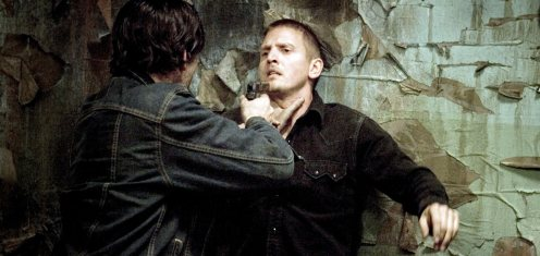 Unknown - James Caviezel fegyvert fog Barry Pepper-re