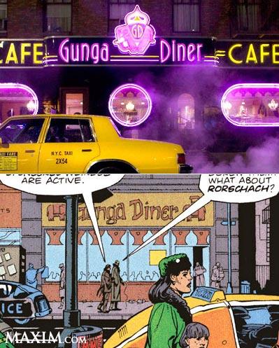Watchmen comics vs picture