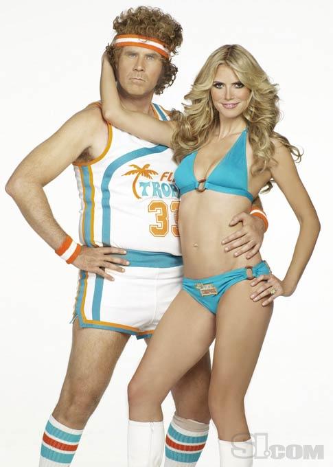 Heidi Klum és Will Ferrell