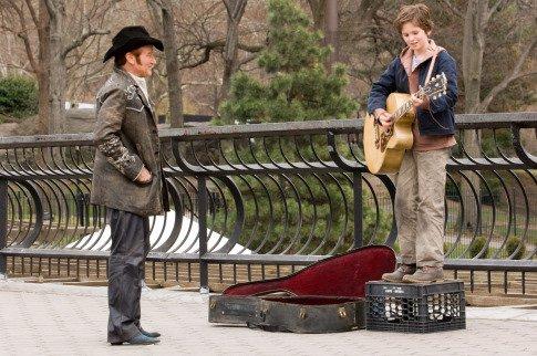 August Rush - parkban gitározás
