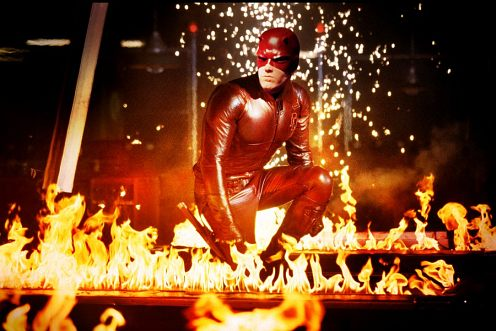 Daredevil - fullos cuccban meg tűz is