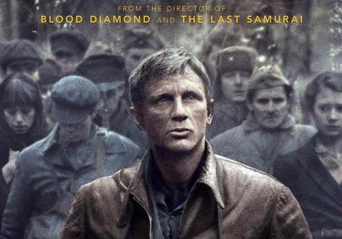 Defiance poster - Daniel Craig