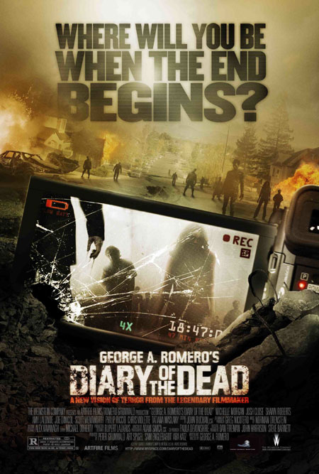 Diary of the Dead poster nagyban