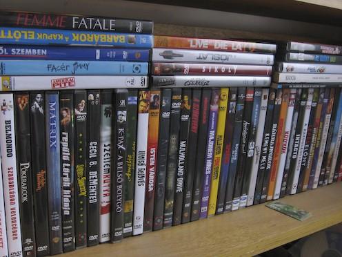 Filmbuzi 1 DVD polc