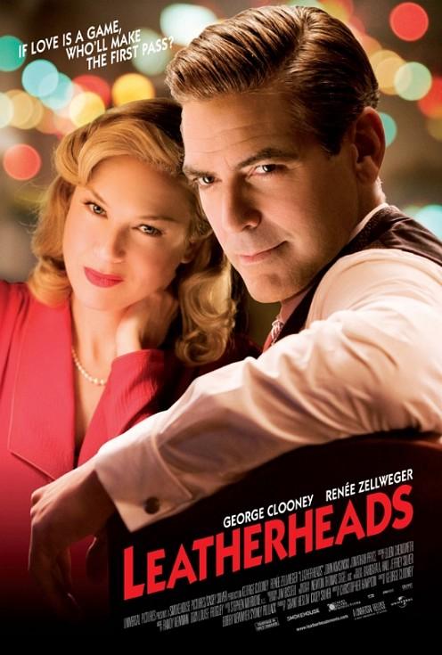 Leatherheads love poster