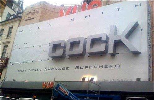 Hancock billboard