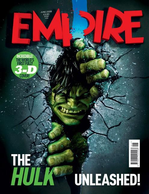 Incredible Hulk az Empire-ben, teljesen 3d