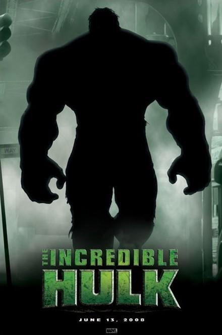Incredible Hulk teaser poszter