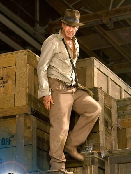 Indy álll a dobzookon