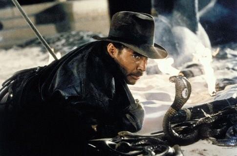 Az elveszett frigyláda fosztogatói - Jones és a kígyóverem