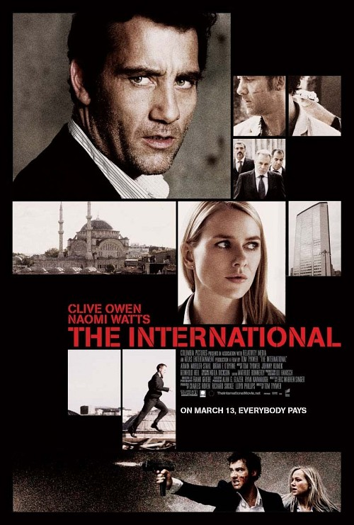 The International poster