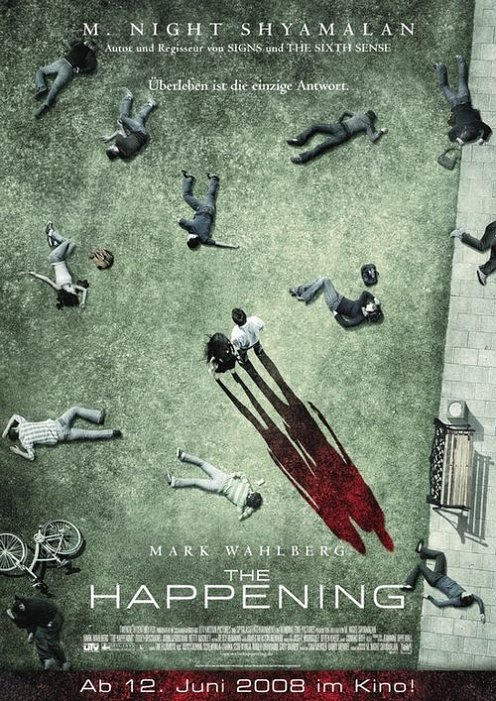 The Happening poster