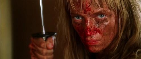 Kill Billben Uma a karddal