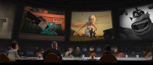 Monsters Vs aliens screenshot