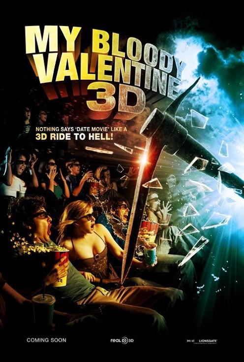My Bloody Valentine 3-D poszter