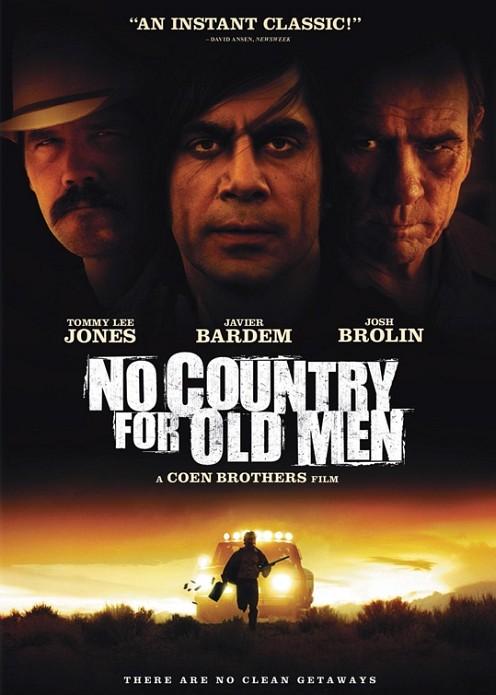 No Country for Old Men dvd borító