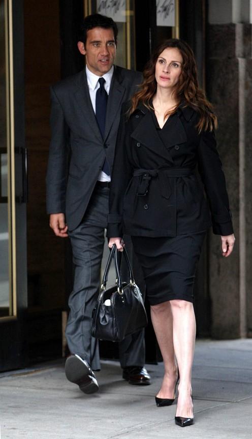 Clive Owen és Julia Roberts forgatja a Duplicity-t