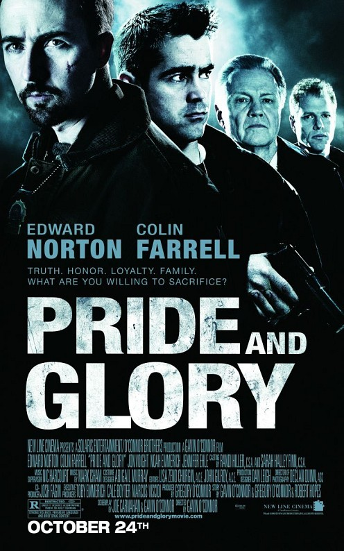 Edward Norton a Pride and Glory poszteren