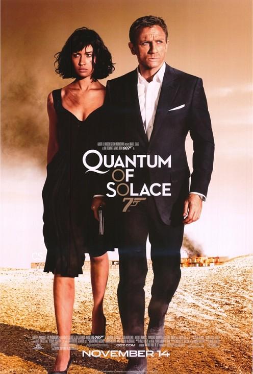 Quantum of Solace, a végső poszter
