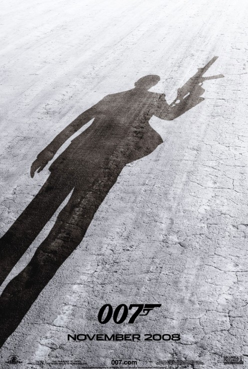 Bond22 - Quantum Of Solace poster