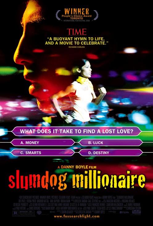 SlumDog Millionarie poszter