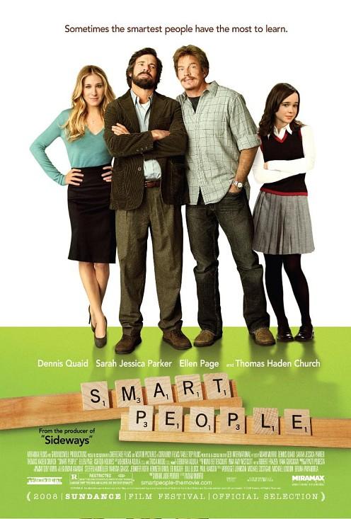 Smart People poster a főszereplőkkel