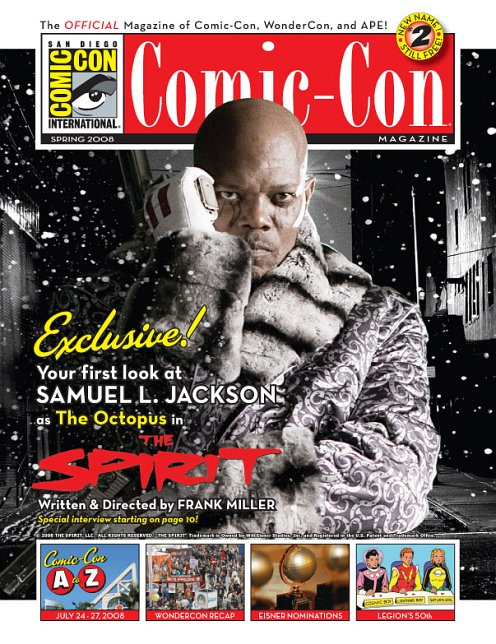 Samuel The Octopus Jackson picture from Comic Con